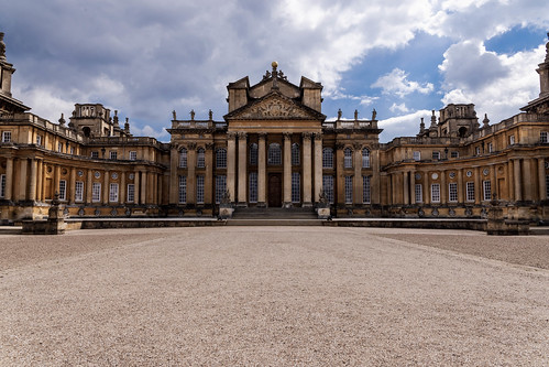 Benheim Palace Main Courtyard
