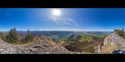Frauenkopf, 360° Panorama