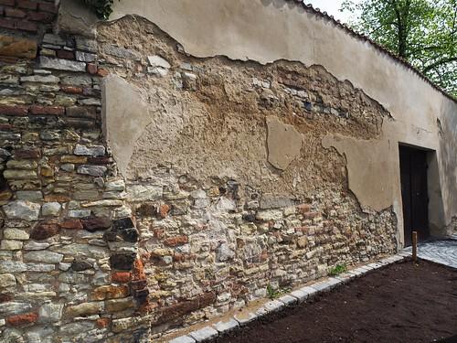 Vyšehrad (P02), čp. 100, Soběslavova. Jižní ohrada areálu Nového děkanství (20210507)