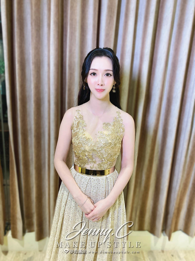 【新秘蓁妮】bride 琇雯 結婚造型 / 戶外婚禮韓系女神