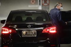 20-04-2021 - Senador Tasso Jereissati participa de votação  de eleição do Presidente e Vice da CPI da COVID, em Brasília - 1