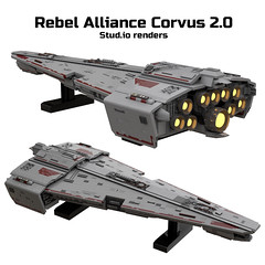 Rebel Alliance Corvus 2.0 renders