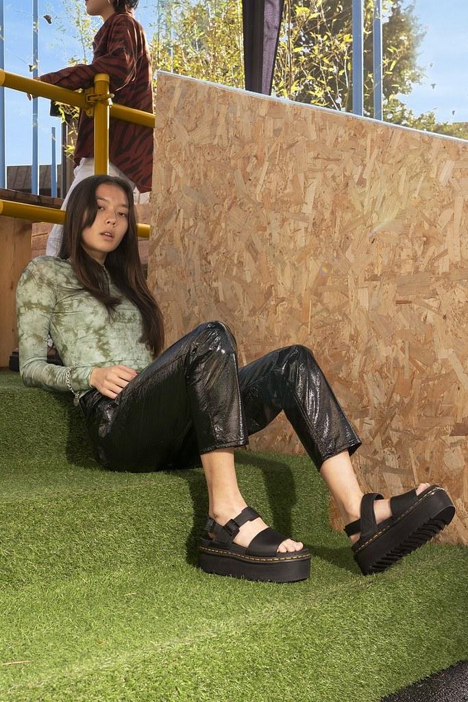 Dr. Martens打造最中性、帥氣的Outdoor馬汀涼鞋