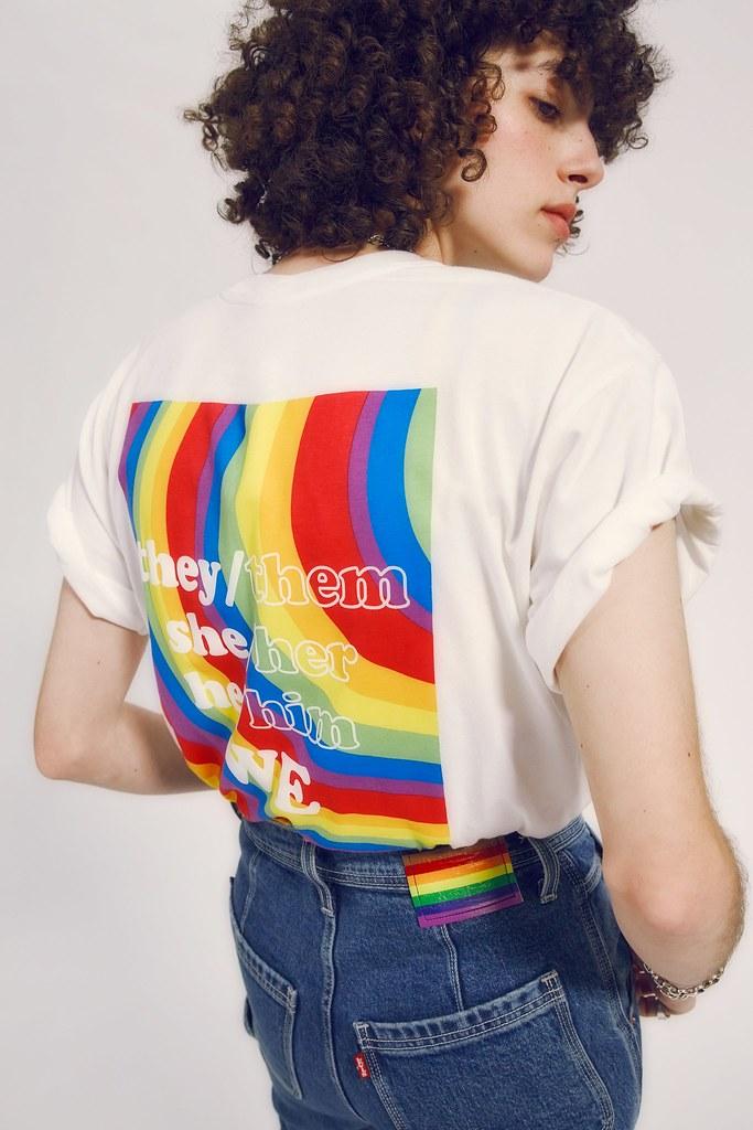 LEVI'S也發起名為「Pride 2021」的活動,強調尊重與包容