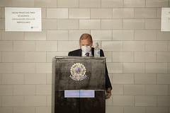 20-04-2021 - Senador Tasso Jereissati participa de votação  de eleição do Presidente e Vice da CPI da COVID, em Brasília - 2