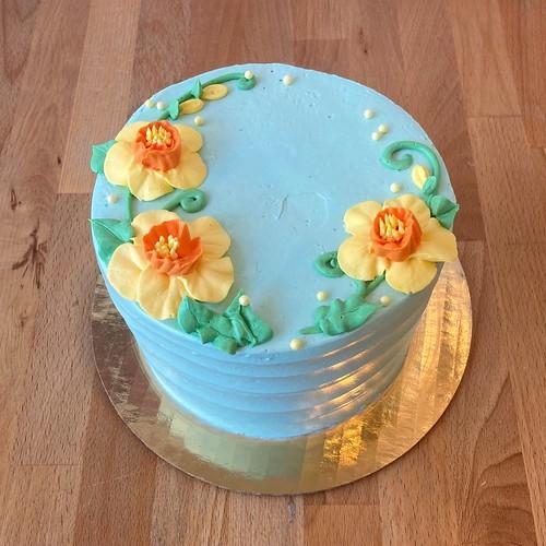 Daffodil Gourmet Cake
