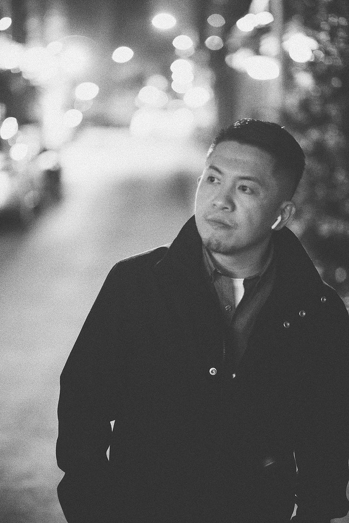 黑白,個人寫真,台北,街道,孤寂