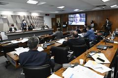 04-05-2021 - Senador Tasso Jereissati participa de oitiva do ex-ministro de Estado da Saúde, Luiz Henrique Mandetta, na CPI da COVID