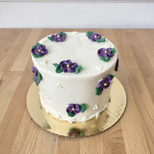 Very Violets Gourmet Cake
