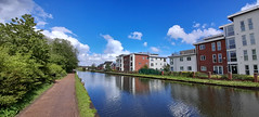 Photo of 10th May 2021. The Bridgewater Canal at Timperley, Greater Manchester