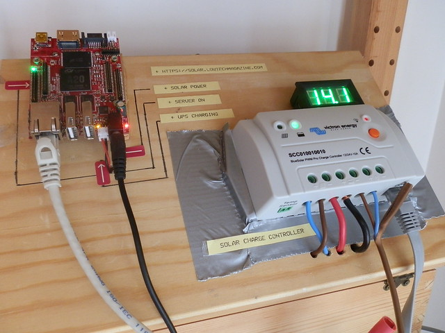 How (not ) to build a solar powered internet: new-solar-charge-controller