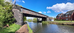 Photo of 10th May 2021. The Bridgewater Canal at Timperley, Greater Manchester.