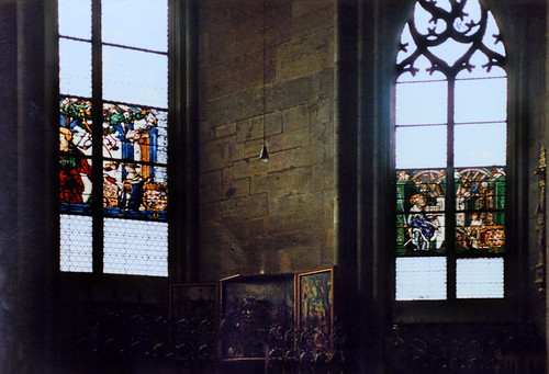 "Freiburg 1987 (09) Freiburger Münster • <a style=""font-size:0.8em;"" href=""http://www.flickr.com/photos/69570948@N04/51175101372/"" target=""_blank"">Auf Flickr ansehen</a>"