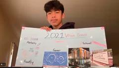 Ambassador Presenting Their Vision Board