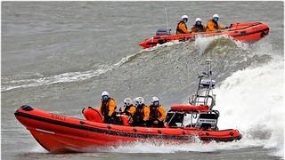 Training exercise at Porthcawl