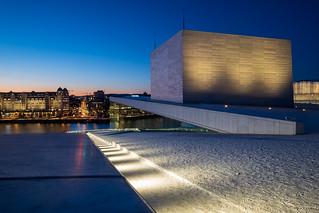 Oslo Opera House, Bjørvika