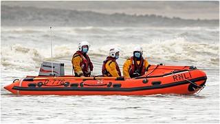 Training at Sandy Bay, Porthcawl