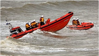 Training in the surf at Sandy Bay