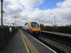 Photo of EMR 222 001 'THE ENTREPRENEUR EXPRESS'. East Midlands Parkway