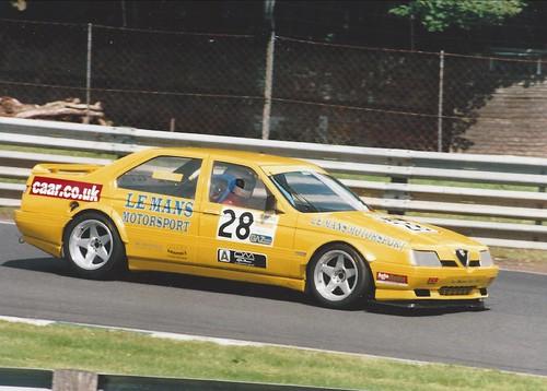 Tony Soper at Oulton Park in 2002