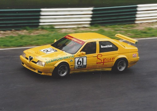 Ian Brookfield approaches Mountain Bottom at Cadwell