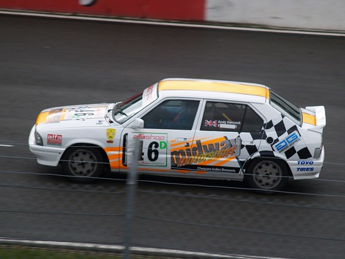 Andy Hancock at Silverstone with 33