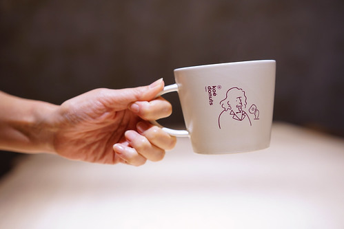 Einstein on a cup
