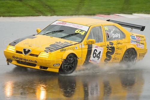 Matt Daly Alfa 164 Silverstone