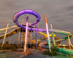 """Abandoned Water Park, Louisiana • <a style=""""font-size:0.8em;"""" href=""""http://www.flickr.com/photos/25078342@N00/51178587629/"""" target=""""_blank"""">View on Flickr</a>"""