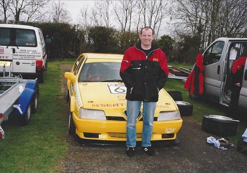 Ian Brookfield at Castle Coimbe 2004