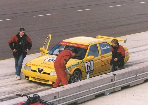Problem for Ian at Rockingham 2004