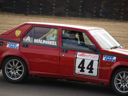 Robin Eyre-Maunsell at Brands hairpin