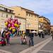 Cohabitation piétons - cyclistes à Rimini 3