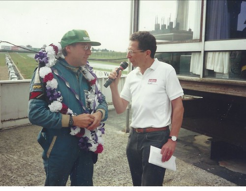 Martin Parsons with Paul Truswell at Croix 1996