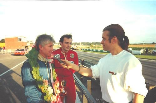 Ron Davidson, a winner at Snetterton