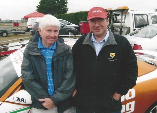 Longtime 164 campaigners Ron Davidson and Martin Parsons