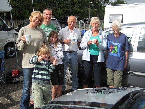 Diana Lindsay with the Allen family and 146 at Brands
