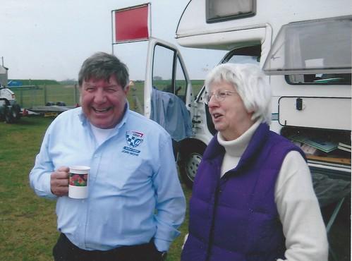 John Monk with Diana Lindsay