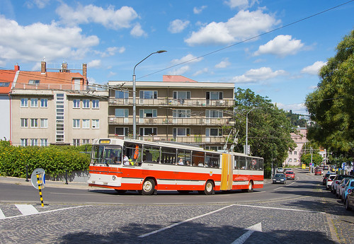 Trolejbusoví velikáni VI.   Škoda Sanos S 200 #6505   DPB   Bratislava