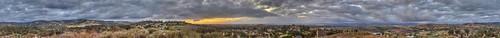 34 35 20 minutes after Sunset, Irvine California P1890529_30_31_32_33_34_35 Stitch (32000x2915) (2) image