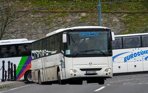 Slovakia tourist bus: Irisbus Axer # SA-119BU