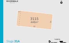 Lot 3115 (Riverwalk) Priya Street, Werribee VIC