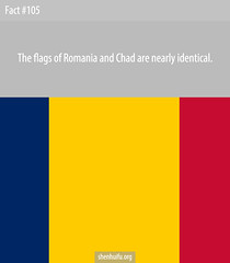Do Romania and Chad Have the Same Flag?