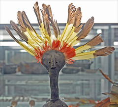 Figurine dans la galerie de l'Amazonie (Musée national d'ethnologie, Lisbonne)