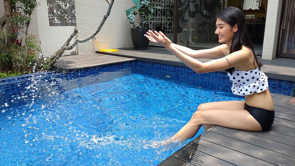 圖說、Xperia-10-III導入10fps連拍功能,輕鬆捕捉夏日戲水消暑的玩樂瞬間!