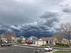 May 17, 2021 - Stormy skies over Thornton. (Christene Lawrence Bass)