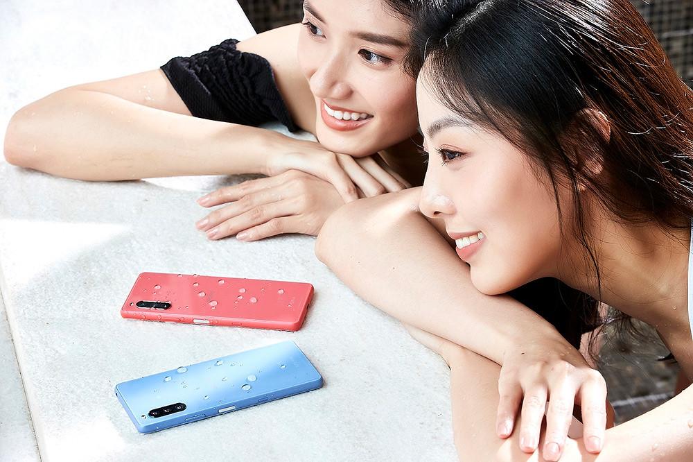 圖說、Xperia-10-III為Sony-Mobile旗下第40支防水手機,為行動生活帶來完美防護!(1)