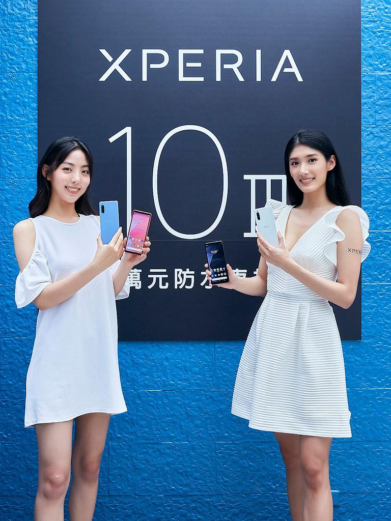 圖說、Sony-Mobile全新萬元防水夜拍機Xperia-10-III今(18)日正式在台發表,將於下周上市(1)
