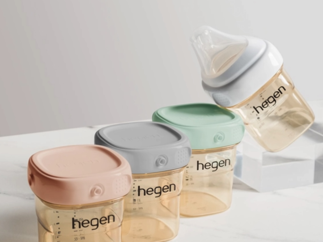hegen奶瓶, 防脹氣奶瓶, 小金奶瓶, 奶瓶推薦, 寬口奶瓶