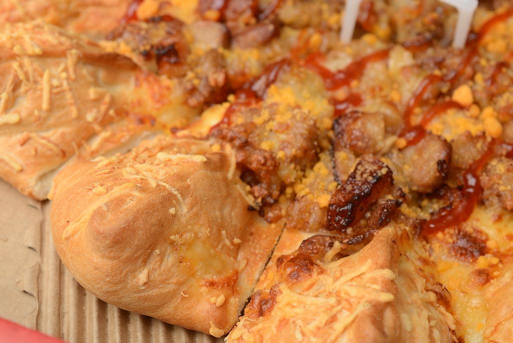 PizzaHut 北部粽披薩
